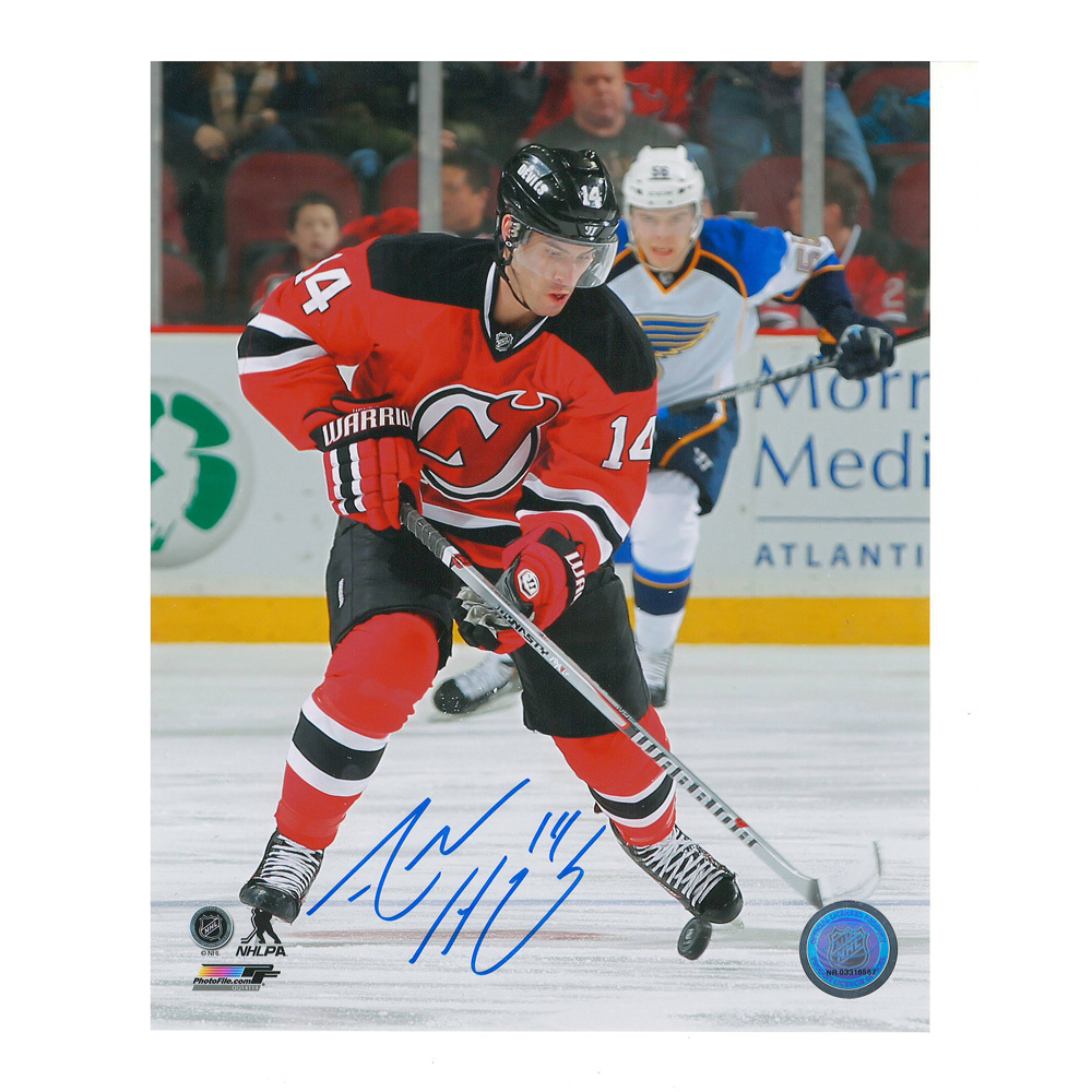 ADAM HENRIQUE Signed New Jersey Devils 8 X 10 Photo - 70167