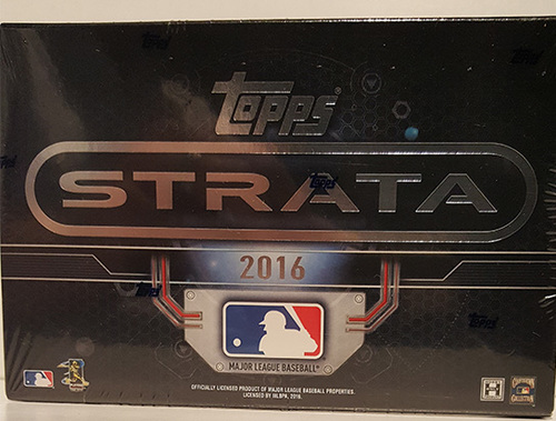 Photo of 2016 Topps Strata Baseball Hobby Box