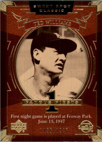 Photo of 2004 Sweet Spot Classic #153 Ted Williams FF/1947
