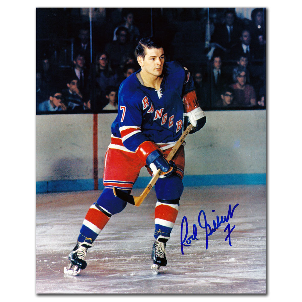 Rod Gilbert New York Rangers Autographed 8x10