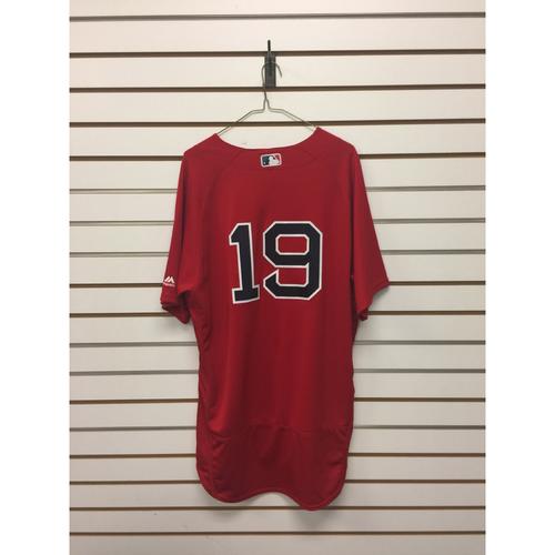 Koji Uehara Team-Issued 2016 Home Alternate Jersey