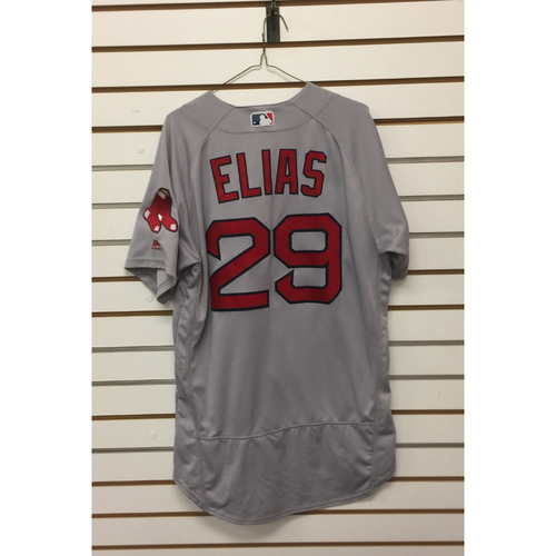 Photo of Roenis Elias Game-Used September 23, 2017 Road Jersey
