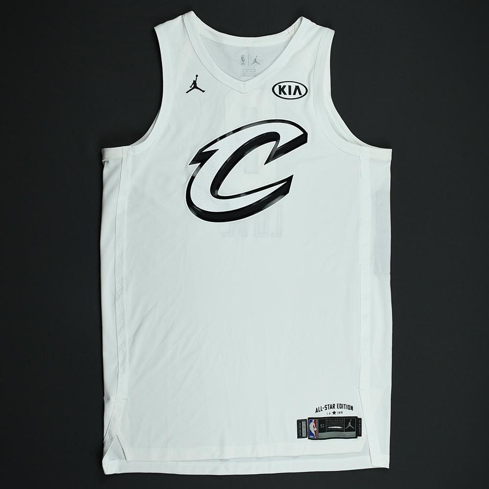 Kevin Love - 2018 NBA All-Star Game - Team LeBron - Game-Issued Jersey - 1st Half Only