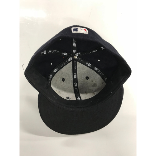 Photo of Corey Kluber Game-Used 2018 Puerto Rico Series Cap