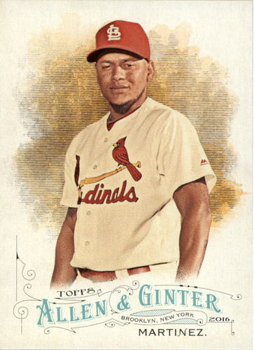 Photo of 2016 Topps Allen and Ginter #103 Carlos Martinez
