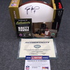 PCF - Brett Favre signed panel ball (w/ Jets and Favre certificates of authenticity)