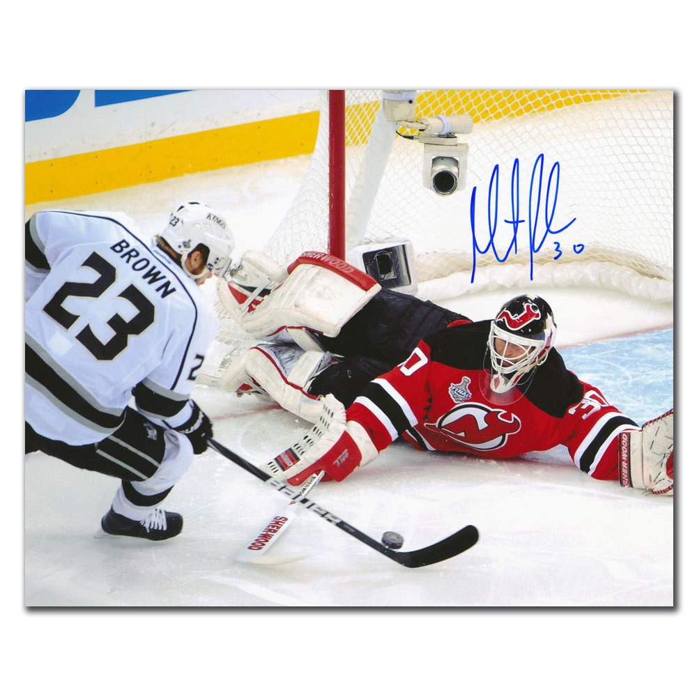 uk availability af336 c16ae Martin Brodeur New Jersey Devils vs. BROWN Autographed 8x10 ...