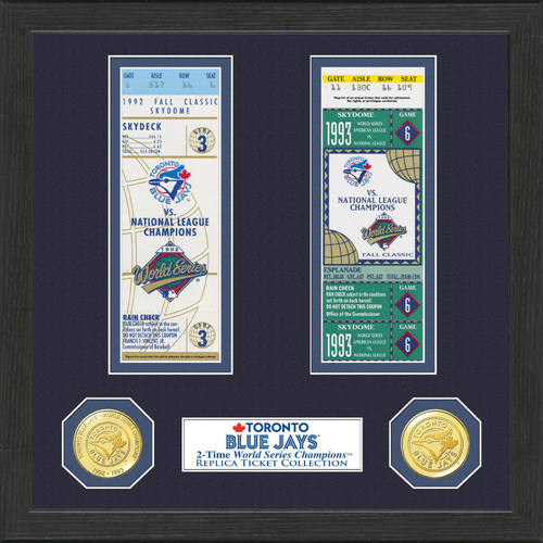 Photo of Toronto Blue Jays World Series Ticket Collection