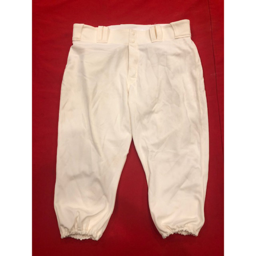 Tanner Roark -- Game-Used Pants -- 1902 (Starting Pitcher: W-2, 6.2 IP, 2 R, 7 K) & 1912 Throwback Games (Starting Pitcher: 5.0 IP, 2 R, 7 K) -- Size: 37-44-20