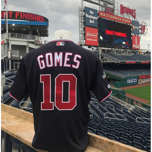 Photo of 2019 NLDS/NLCS Game-Used Jersey: Yan Gomes