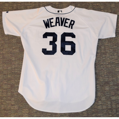 Photo of Jeff Weaver Detroit Tigers #36 Home Jersey (NOT MLB AUTHENTICATED)