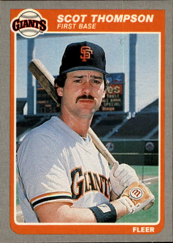 Photo of 1985 Fleer #621 Scot Thompson