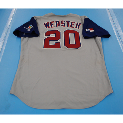 Photo of 2006 Inaugural World Baseball Classic: Ramon Webster Game-worn Team Panama Road Jersey