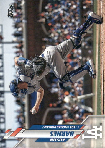 Photo of 2020 Topps #80 Austin Barnes