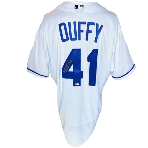 Photo of Autographed Nike Jersey: Danny Duffy