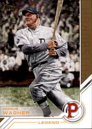 Photo of 2017 Topps Salute #S23 Honus Wagner