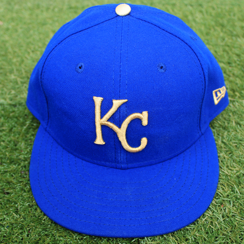 Photo of Game-Used Cap: Ian Kennedy (Size 7 3/8 - MIN @ KC - 9/27/19)