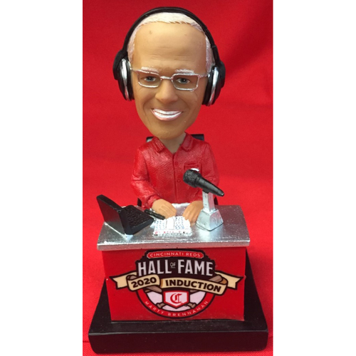 Photo of Hall of Fame 2020 Marty Brennaman AUTOGRAPHED Bobblehead - Exclusive Collection of 100 - Bobblehead NUMBER 74