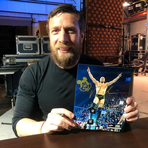 Photo of Daniel Bryan SIGNED WrestleMania 36 Exclusive Photo (#1 OF 36)