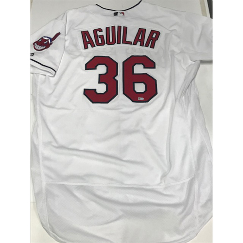 Photo of Jesus Aguilar Team Issued 2016 Home Jersey