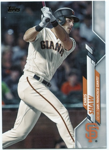 Photo of 2020 Topps #362 Chris Shaw