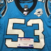 Crucial Catch - Panthers Brian Burns Game Used Jersey with 25 Seasons Patch (10/6/19) Size 42