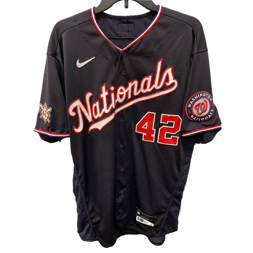 Photo of Victor Robles - Jackie Robinson Day Game Used Jersey