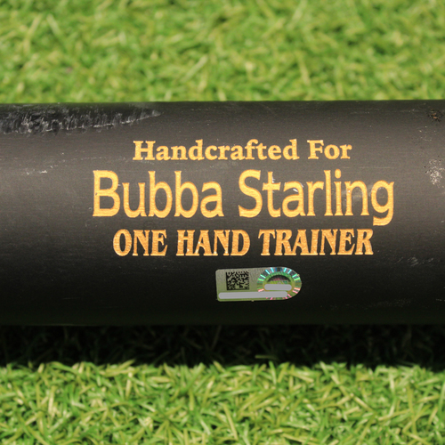 Team-Issued Trainer Bat: Bubba Starling #11