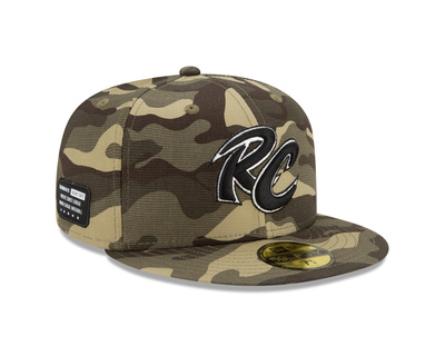ANTHONY BANDA #46 - GAME USED ARMED FORCES HAT