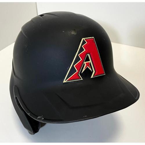 Photo of Eduardo Escobar Team Issued Batting Helmet