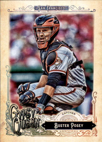 Photo of 2017 Topps Gypsy Queen #124 Buster Posey