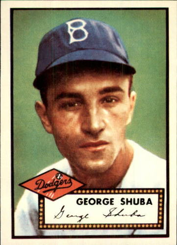 Photo of 1983 Topps 1952 Reprint #326 George Shuba