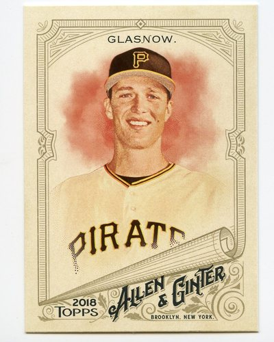 Photo of 2018 Topps Allen and Ginter #345 Tyler Glasnow SP
