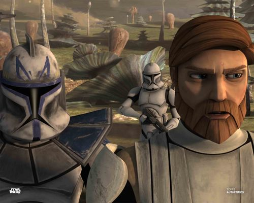 Obi-Wan Kenobi and Captain Rex