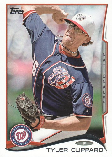Photo of 2014 Topps #574 Tyler Clippard