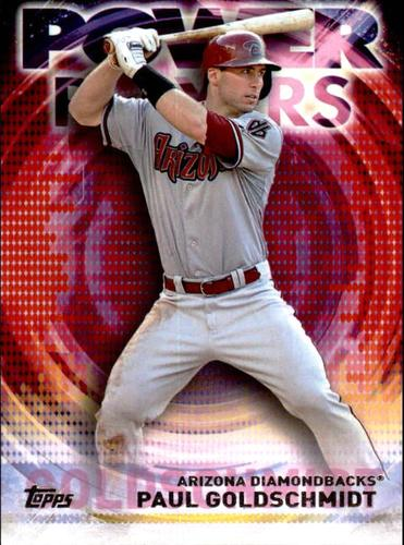 Photo of 2014 Topps Update Power Players #PPAPG Paul Goldschmidt