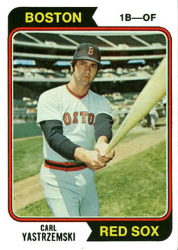 Photo of 1974 Topps #280 Carl Yastrzemski