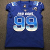 PCC - Rams Aaron Donald Signed and Game Issued Pro Bowl Jeresy Size 44