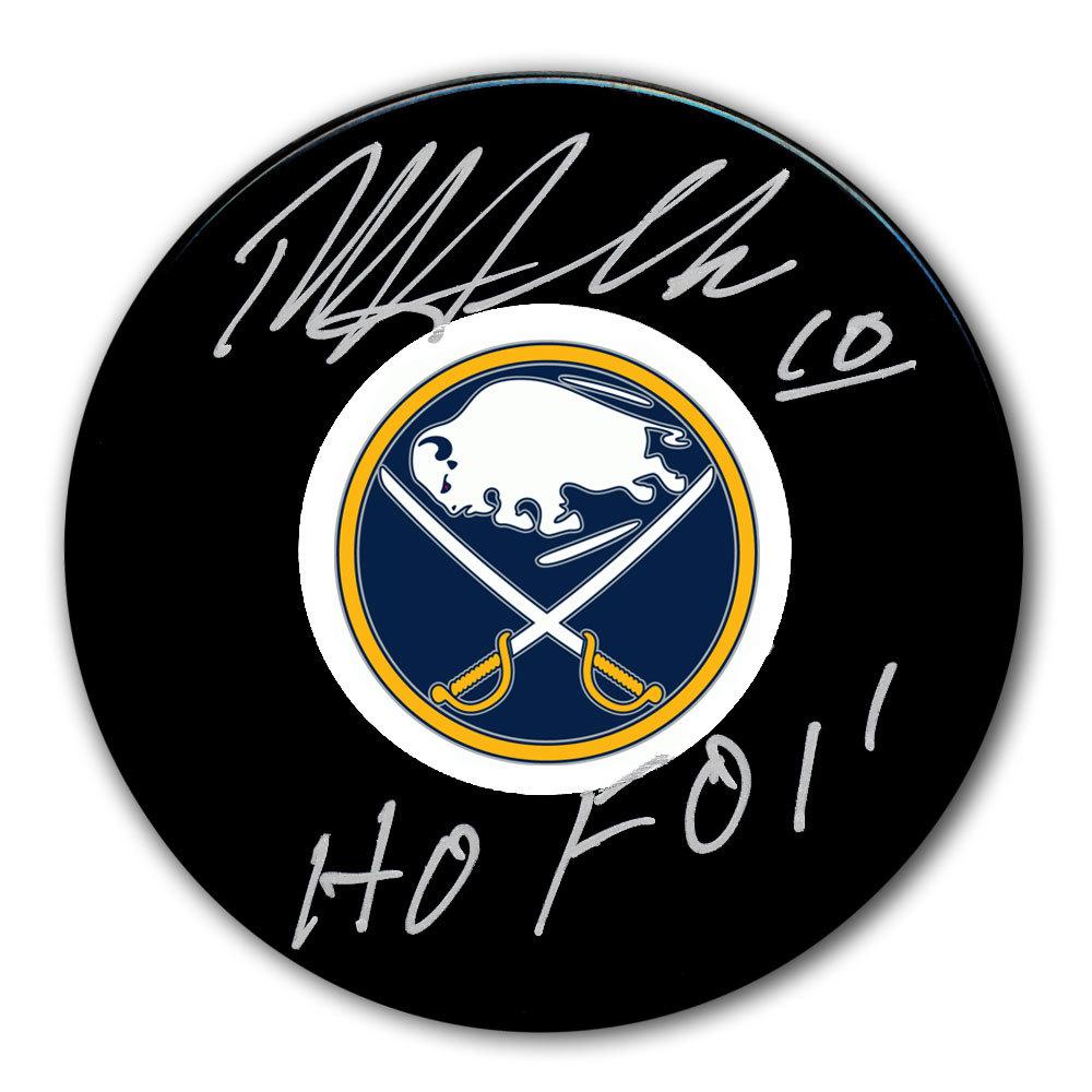 Dale Hawerchuk Buffalo Sabres HOF Autographed Puck