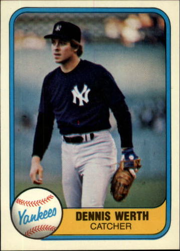 Photo of 1981 Fleer #102 Dennis Werth RC