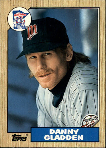 Photo of 1987 Topps Traded #38T Dan Gladden