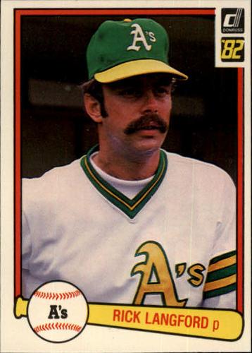 Photo of 1982 Donruss #161 Rick Langford