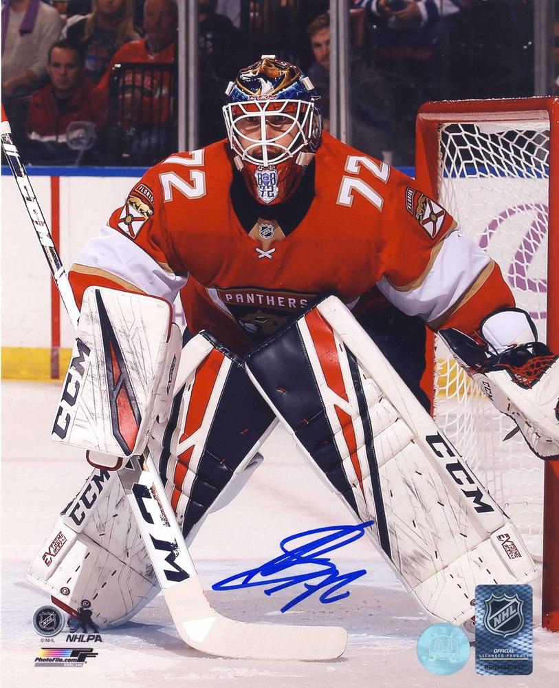 Sergei Bobrovsky Florida Panthers Autographed Goalie 8x10 Photo