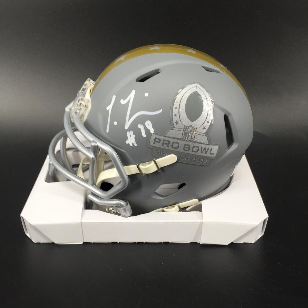 NFL - Texans Laremy Tunsil Signed Pro Bowl 2020 Mini Helmet