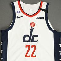 Jerian Grant - Washington Wizards - Game-Worn City Edition Jersey - 2019-20 NBA Season Restart