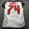 Crucial Catch - Buccaneers Ali Marpet Game Used Jersey (11/3/19) Size 46 W/ Captains Patch