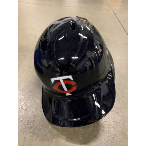 Photo of 2021 MLB Draft Used Helmet: Minnesota Twins