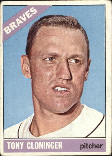 Photo of 1966 Topps #10 Tony Cloninger