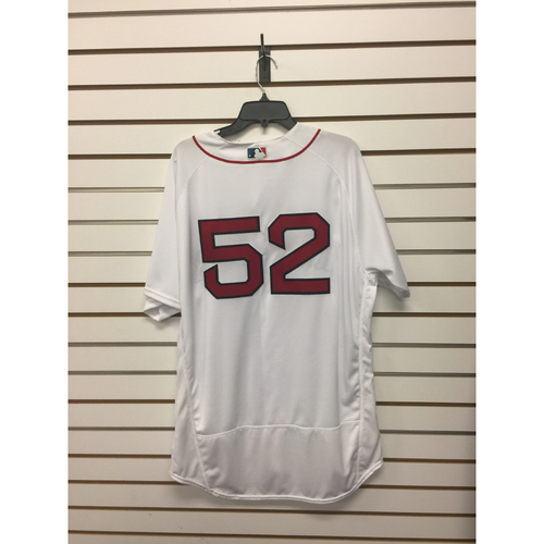 Eduardo Rodriguez Team-Issued 2016 Home Jersey