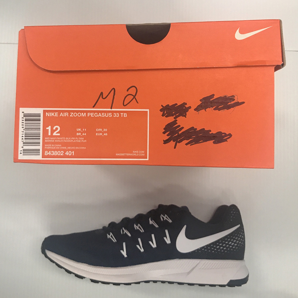 Photo of Nike Men's Shoes Size 12 Pegasus 33, Color Navy Blue